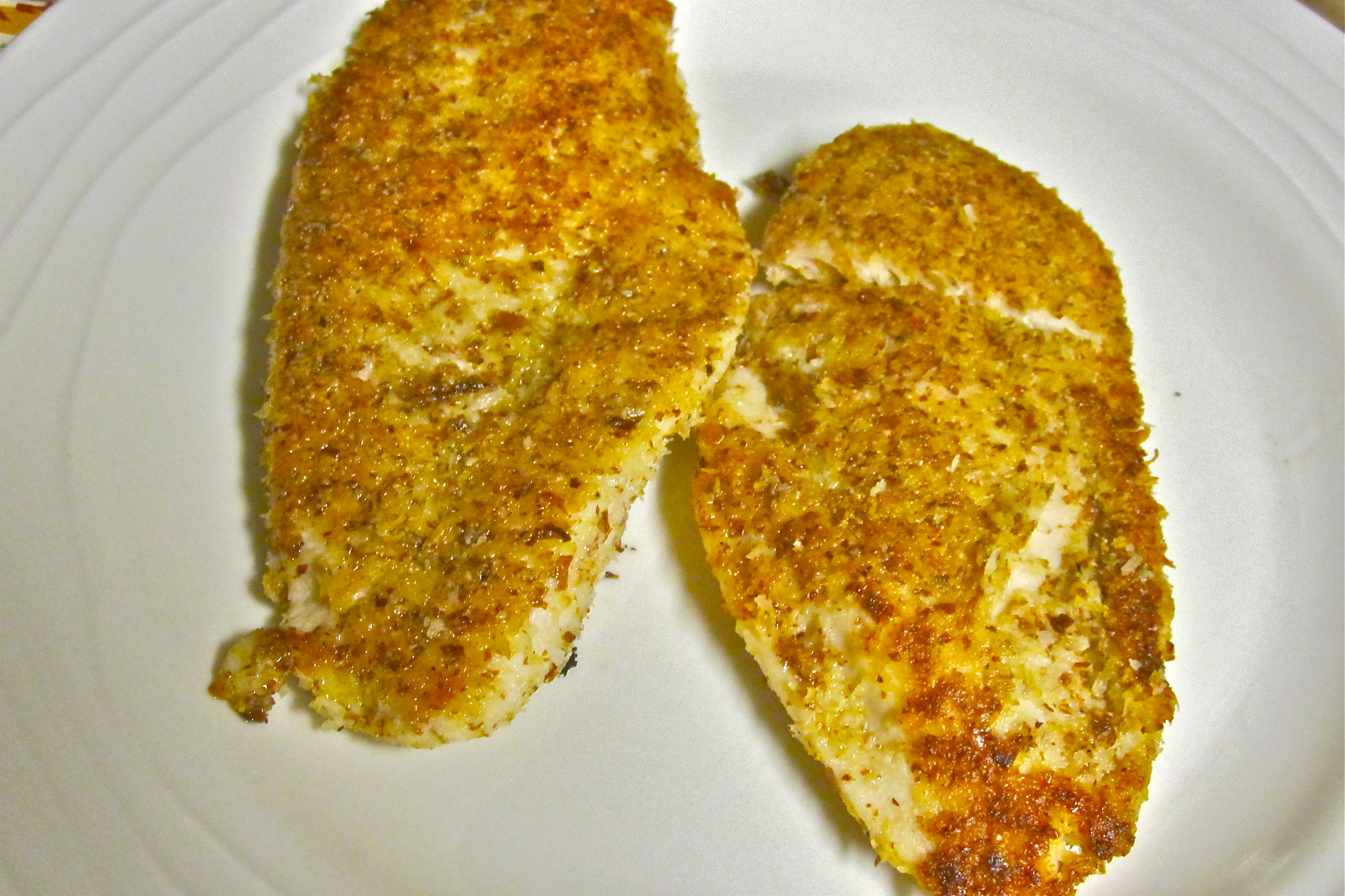 Coconut-Almond Crusted Chicken {or Fish} - Simply Real Health